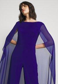 Lauren Ralph Lauren - CLASSIC COMBO - Jumpsuit - cannes blue - 3