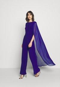 Lauren Ralph Lauren - CLASSIC COMBO - Jumpsuit - cannes blue - 1