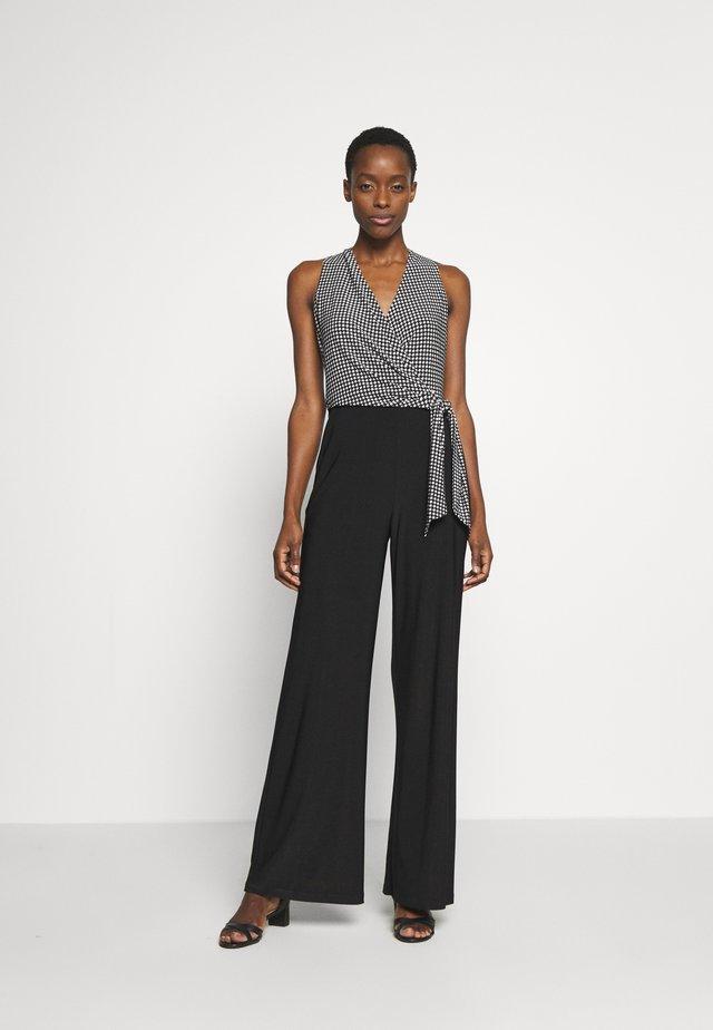 CLASSIC JUMPSUIT - Tuta jumpsuit - black/colonial