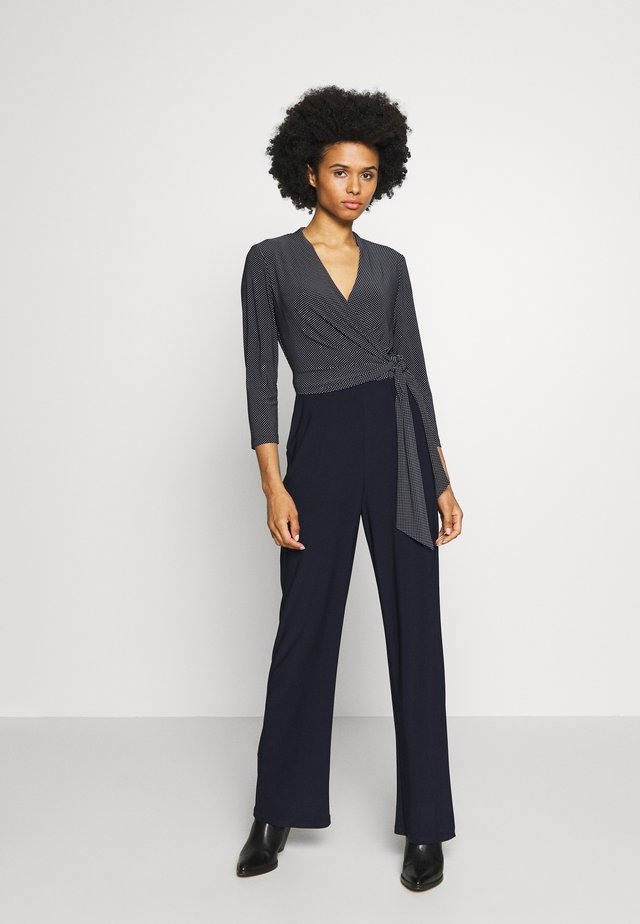 MID WEIGHT - Jumpsuit - navy/colonial