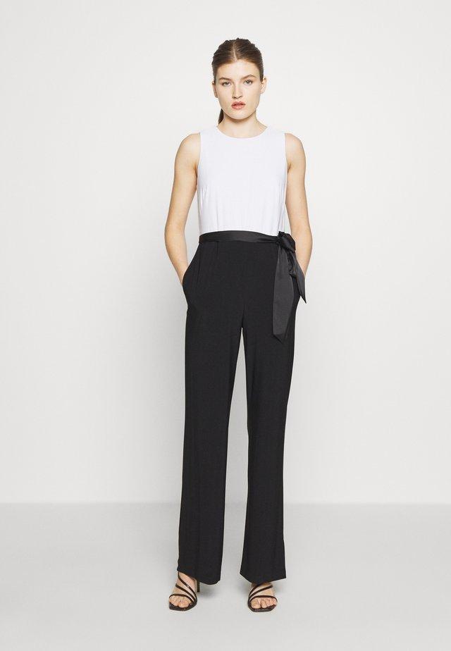 CLASSIC - Tuta jumpsuit - black/lauren white