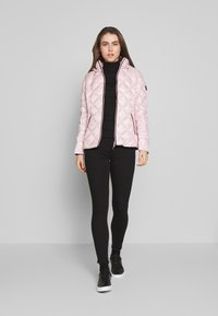 Lauren Ralph Lauren - PEARL SHEEN PACKBLE REMOVABLE - Down jacket - blush - 1