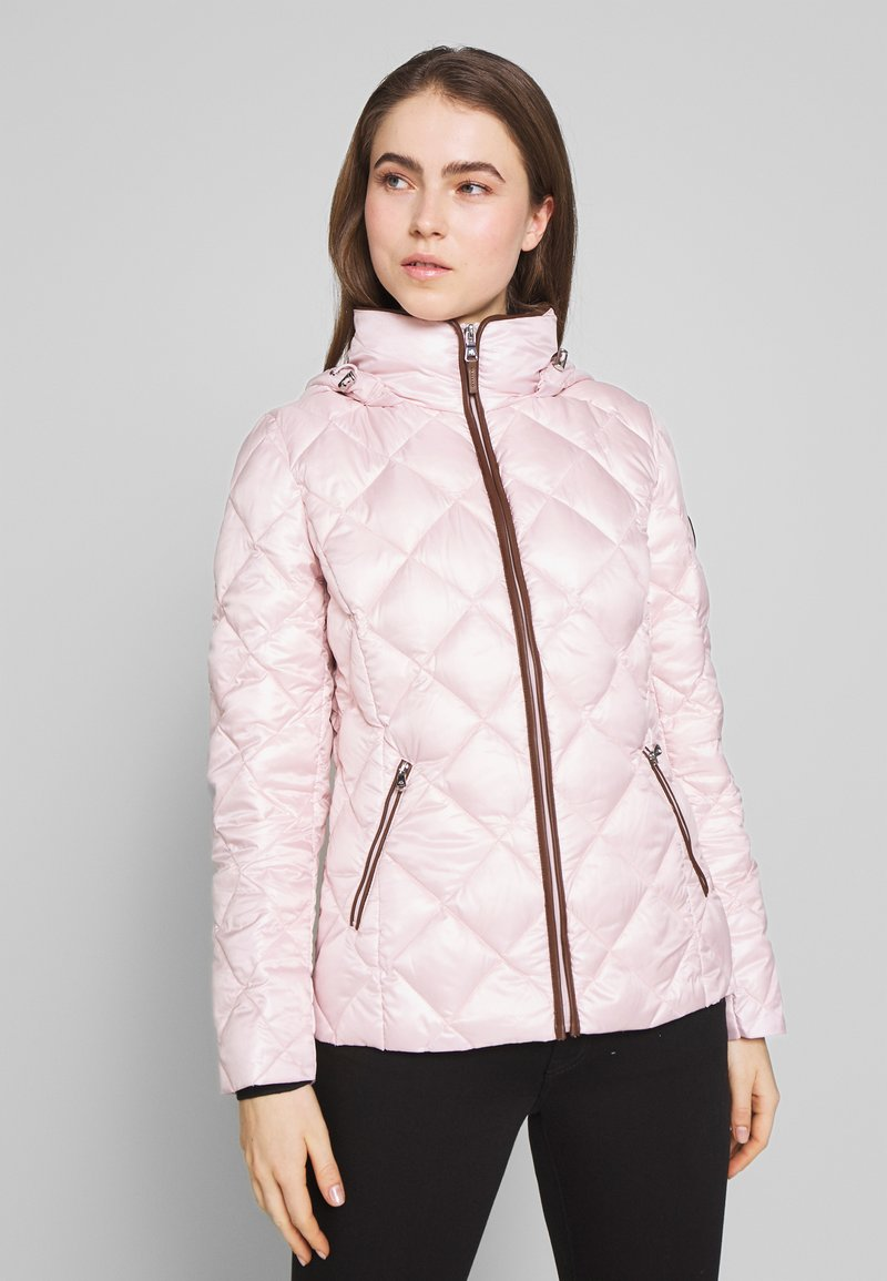 Lauren Ralph Lauren - PEARL SHEEN PACKBLE REMOVABLE - Down jacket - blush