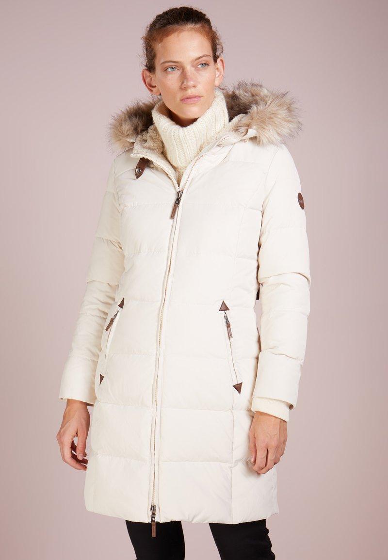 Lauren Ralph Lauren - HAND TRIM  - Down coat - moda cream