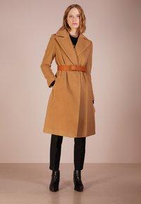 Lauren Ralph Lauren - Płaszcz wełniany /Płaszcz klasyczny - vicuna - 1