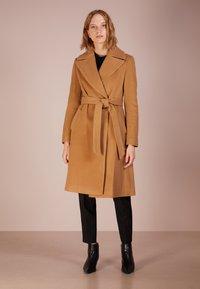 Lauren Ralph Lauren - Płaszcz wełniany /Płaszcz klasyczny - vicuna - 0