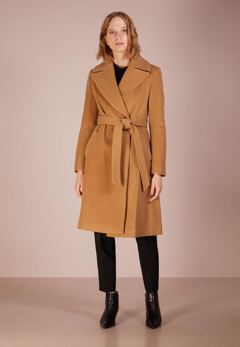 Lauren Ralph Lauren - Płaszcz wełniany /Płaszcz klasyczny - vicuna