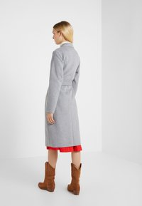Lauren Ralph Lauren - DOUBLE FACE WRAP - Manteau classique - pale grey - 2