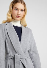 Lauren Ralph Lauren - DOUBLE FACE WRAP - Mantel - pale grey - 4