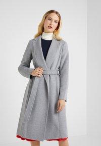 Lauren Ralph Lauren - DOUBLE FACE WRAP - Manteau classique - pale grey - 0