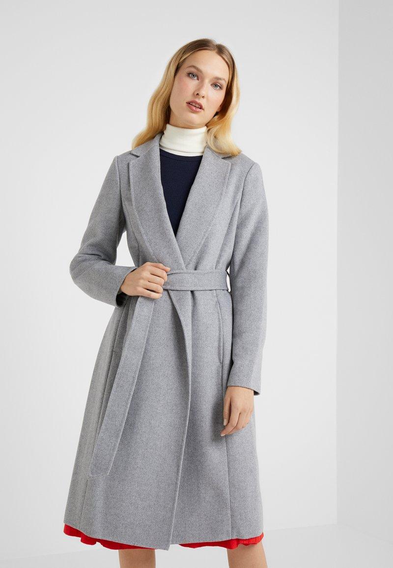 Lauren Ralph Lauren - DOUBLE FACE WRAP - Wollmantel/klassischer Mantel - pale grey