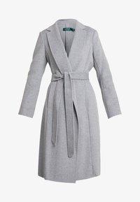 Lauren Ralph Lauren - DOUBLE FACE WRAP - Manteau classique - pale grey - 3