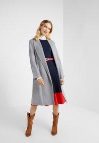 Lauren Ralph Lauren - DOUBLE FACE WRAP - Manteau classique - pale grey - 1