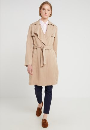 DRAPE LAPEL WRAP - Prochowiec - light tan