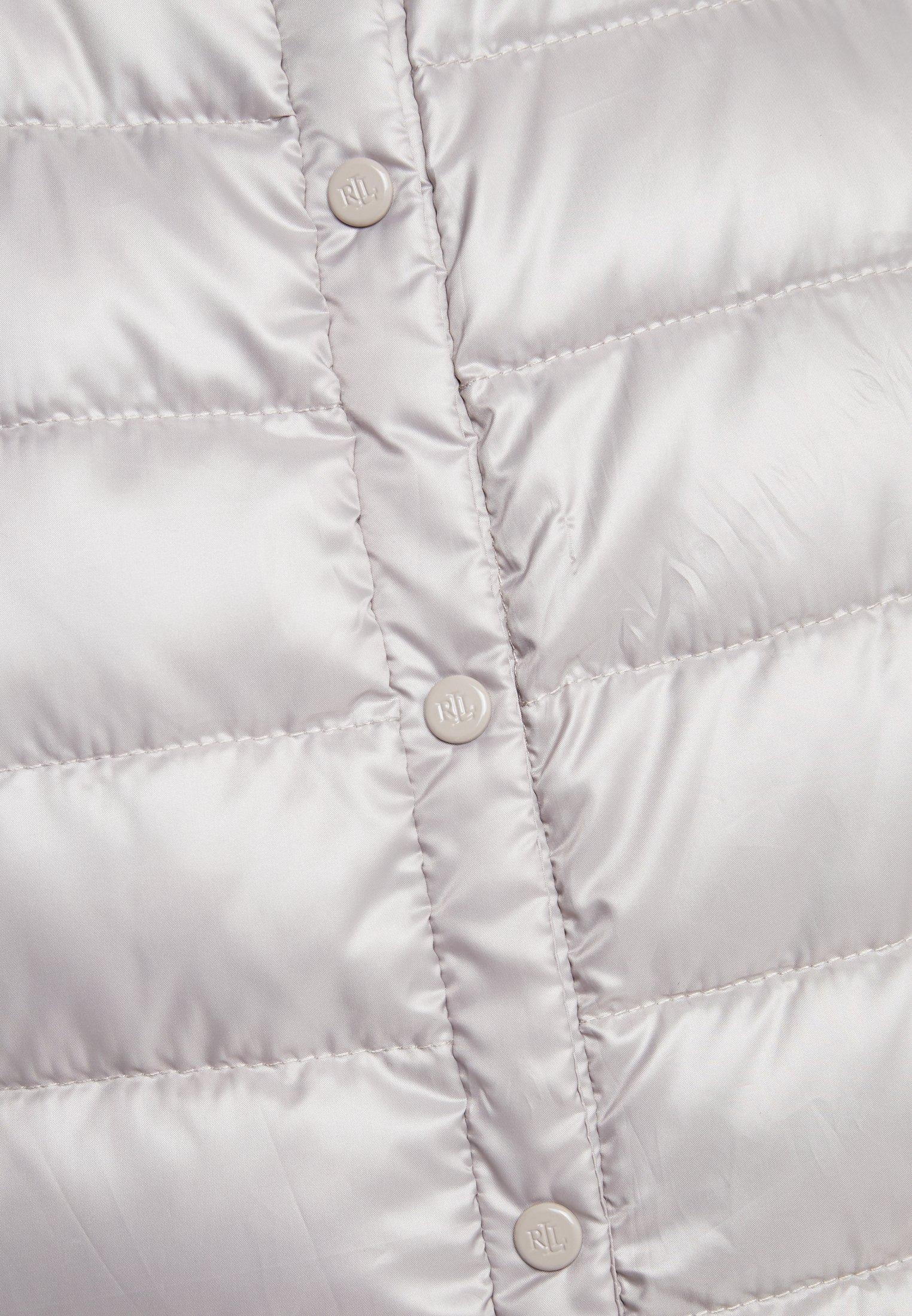 Lauren Ralph Lauren PEARL SHEEN HOZIONTAL QUILT VEST - Vest - cork