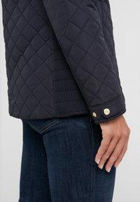 Lauren Ralph Lauren - QUILT STRETCH - Light jacket - dark navy - 3