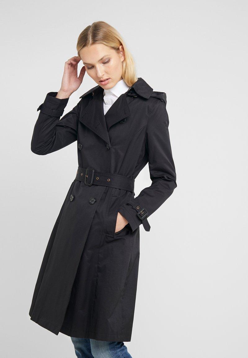 Lauren Ralph Lauren - MAXI - Trenchcoat - black