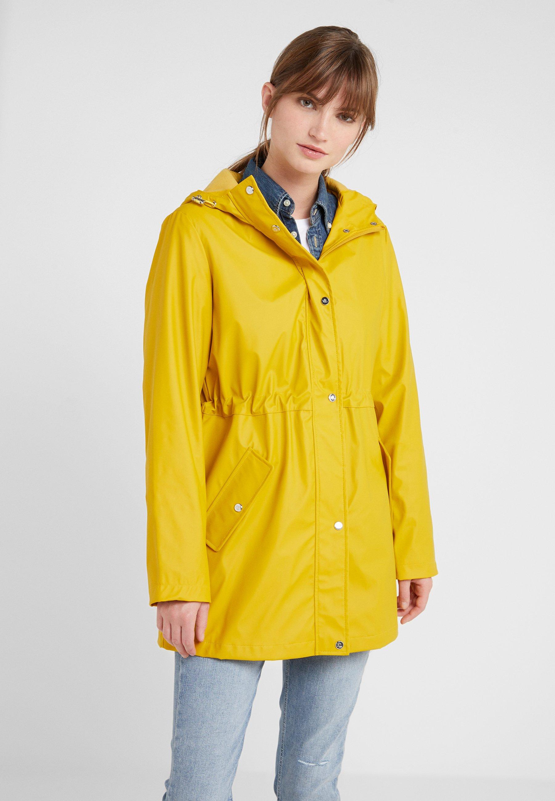 Lauren SlickerParka Rain Deep Yellow Ralph wvmN8n0
