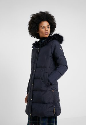 IRIDESCENT QUILT - Down coat - dark navy