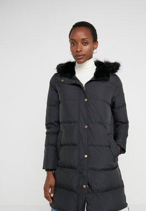 IRIDESCENT QUILT - Down coat - black
