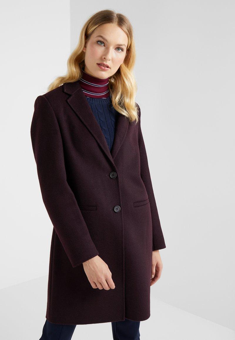Lauren Ralph Lauren - DOUBLE FACE REEFER - Cappotto classico - pinot noir