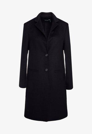 DOUBLE FACE REEFER - Zimní kabát - black