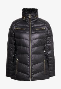 Lauren Ralph Lauren - COAT ZIPPERS - Dunjakker - black - 6