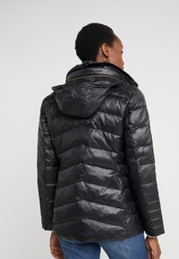 Lauren Ralph Lauren - COAT ZIPPERS - Dunjakke - black