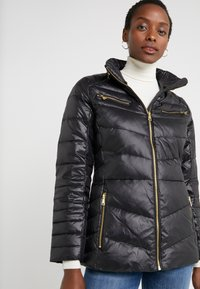 Lauren Ralph Lauren - COAT ZIPPERS - Dunjakker - black