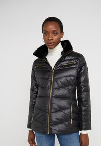 Lauren Ralph Lauren - COAT ZIPPERS - Daunenjacke - black - 0