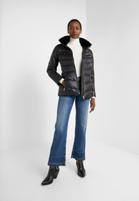 Lauren Ralph Lauren - COAT ZIPPERS - Down jacket - black - 1
