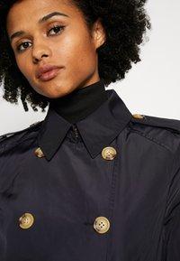 Lauren Ralph Lauren - FAUX MEMORY SOFT TAFFETA TRENCH - Trenchcoat - navy - 3