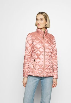 METALLIC QUILT SOFT DOWN - Down jacket - apricot