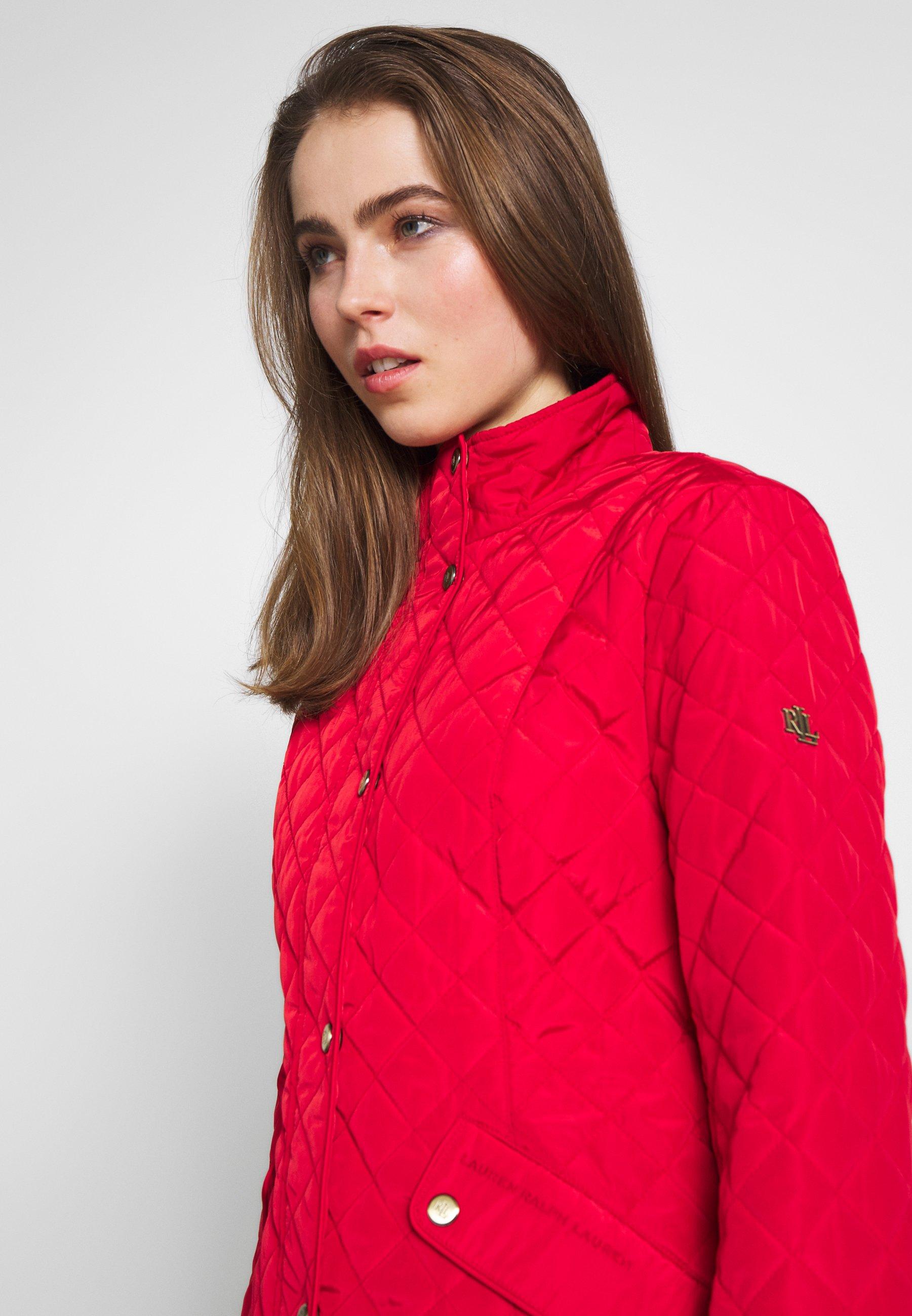 Lauren Ralph Lauren COLLAR - Kurtka przejściowa - bright poinsietta