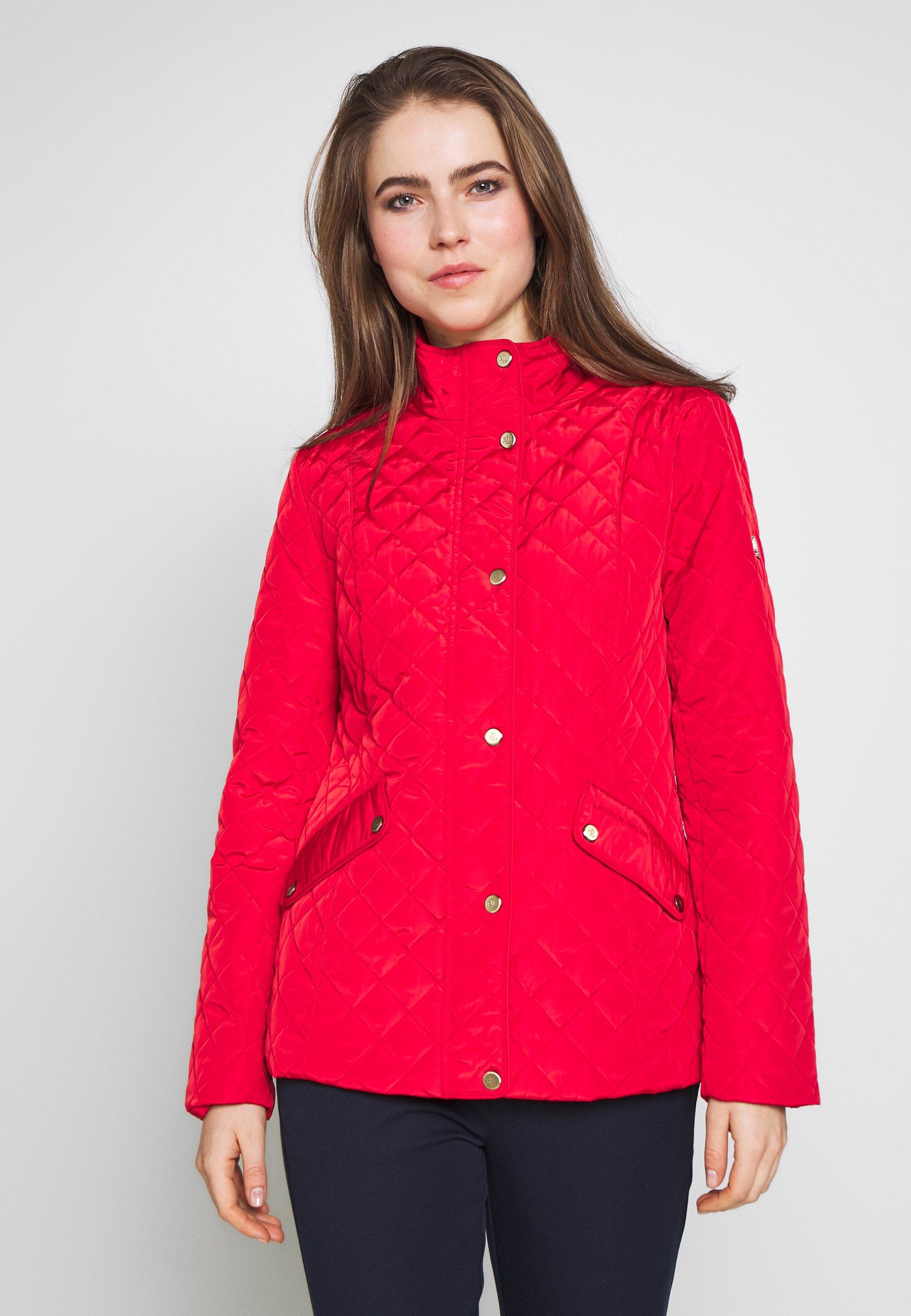 Lauren Ralph Lauren COLLAR - Lett jakke - bright poinsietta