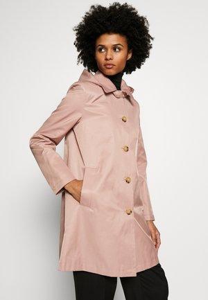 Krótki płaszcz - blush