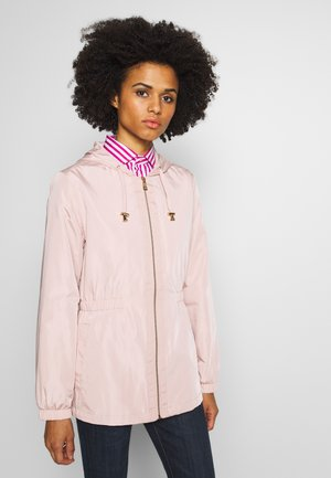 FAUX MEMORY SKIRTED ANORACK - Lehká bunda - blush