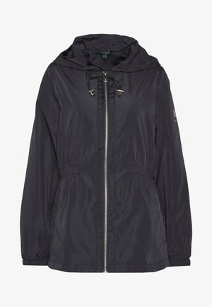 FAUX MEMORY SKIRTED ANORACK - Summer jacket - navy