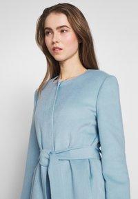 Lauren Ralph Lauren - DOUBLE FACE BELTED  - Villakangastakki - light blue - 3