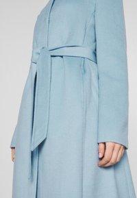Lauren Ralph Lauren - DOUBLE FACE BELTED  - Villakangastakki - light blue - 5