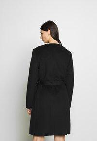 Lauren Ralph Lauren - DOUBLE FACE BELTED  - Płaszcz wełniany /Płaszcz klasyczny - black - 2