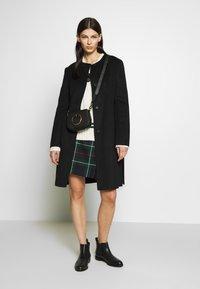 Lauren Ralph Lauren - DOUBLE FACE BELTED  - Płaszcz wełniany /Płaszcz klasyczny - black - 1