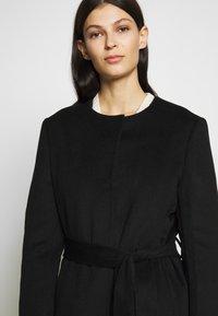 Lauren Ralph Lauren - DOUBLE FACE BELTED  - Płaszcz wełniany /Płaszcz klasyczny - black - 3