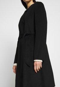 Lauren Ralph Lauren - DOUBLE FACE BELTED  - Płaszcz wełniany /Płaszcz klasyczny - black - 5
