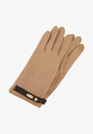 LOGO TOUCH GLOVE - Guantes - classic camel