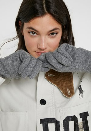 LOGO TOUCH GLOVE - Gants - grey heather