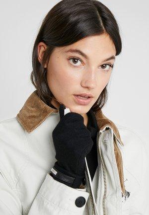 LOGO TOUCH GLOVE - Gloves - black