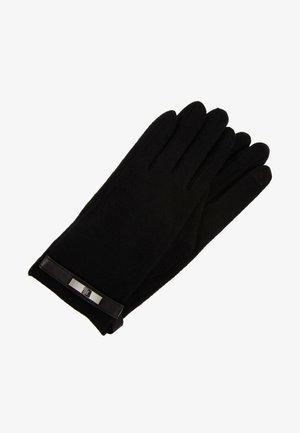 LOGO TOUCH GLOVE - Fingerhandschuh - black