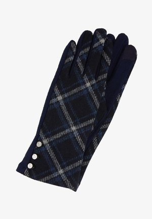 BLEND BUTTON GLOVE - Hansker - navy