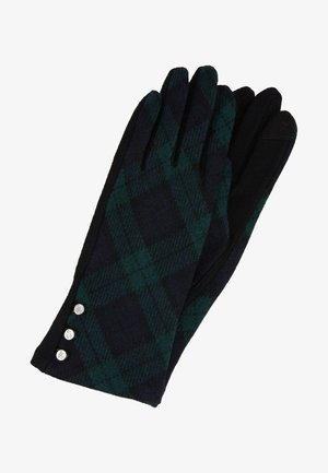 BLEND BUTTON GLOVE - Gants - black